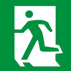 safe way sign