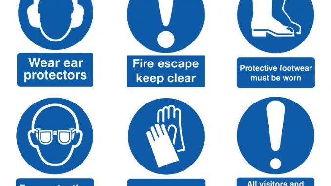 safety sign dan fungsinya
