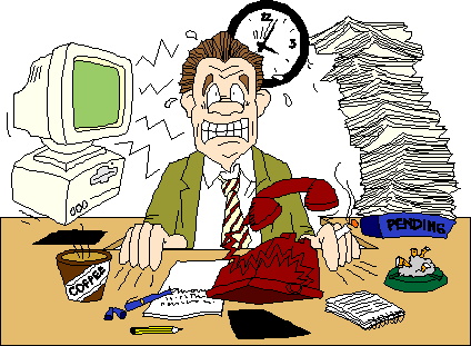 stress bekerja