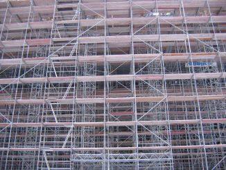 cara pemasangan scaffolding