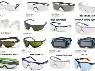 jenis alat pelindung mata dan fungsinya