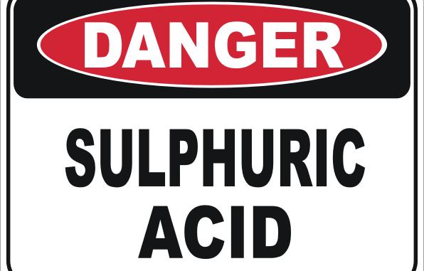 bahaya dan cara penanganan asam sulfat