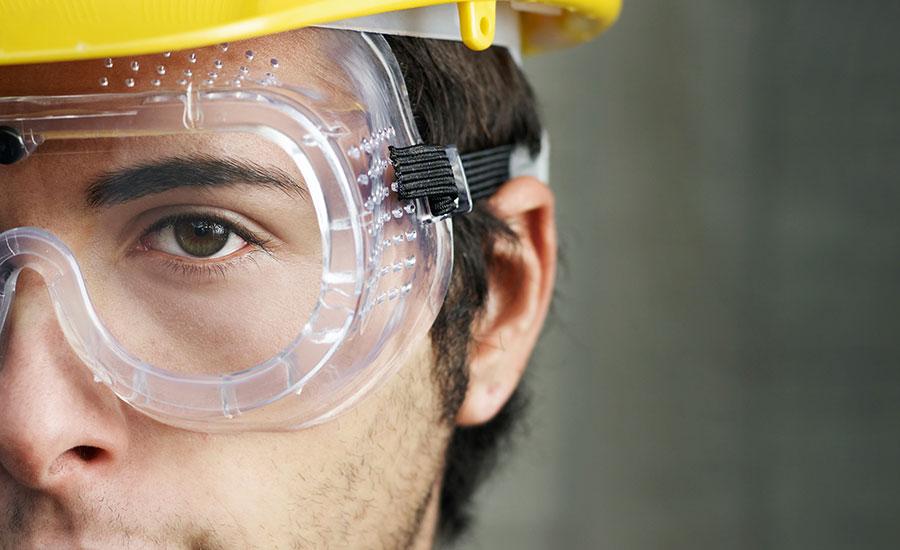 perlindungan terhadap mata di tempat kerja